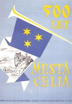 500 let mesta Celja, 1952