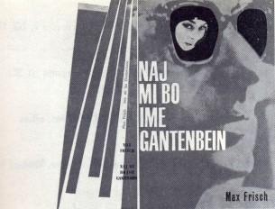 by Max Frisch